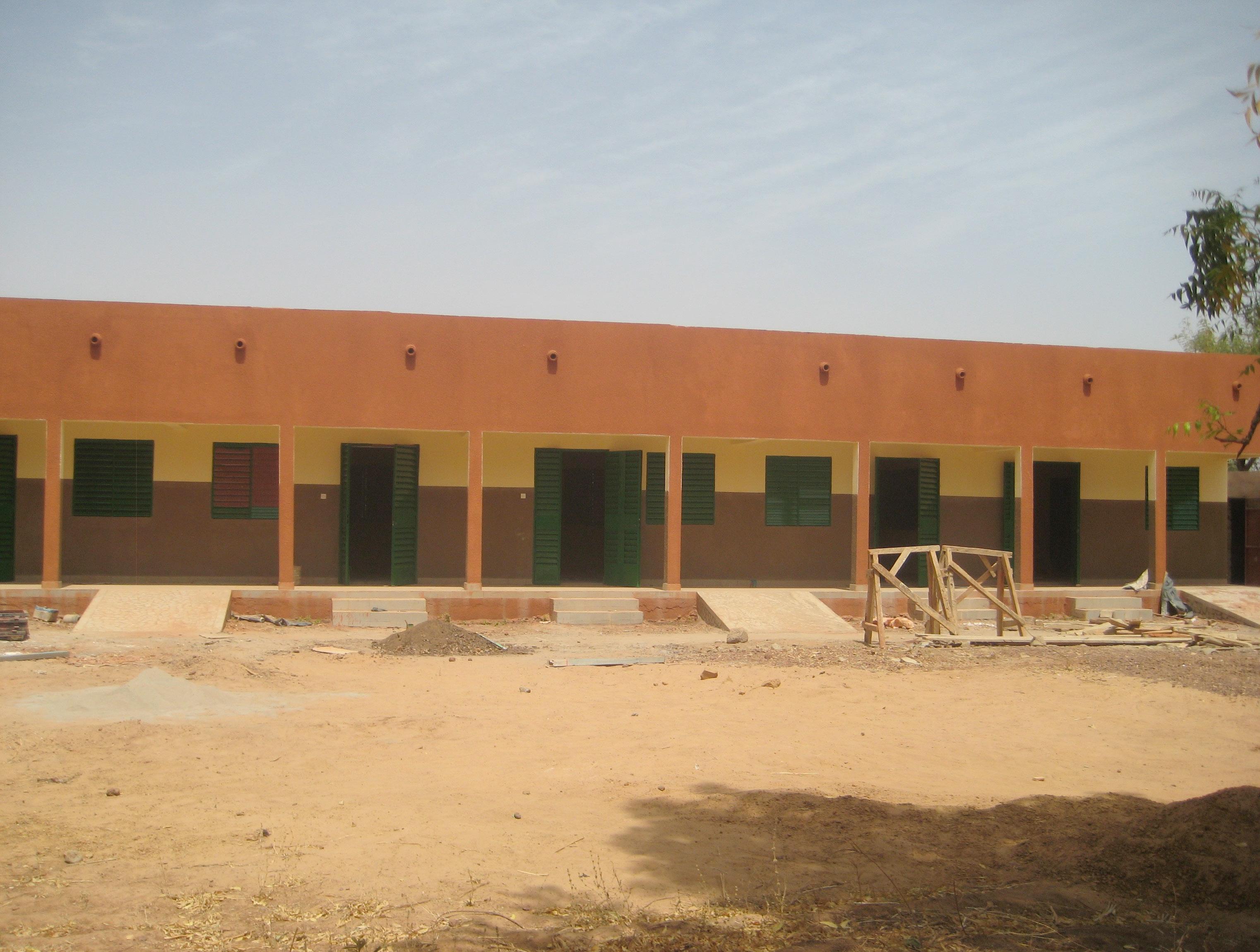 Le bâtiment de la Maternelle