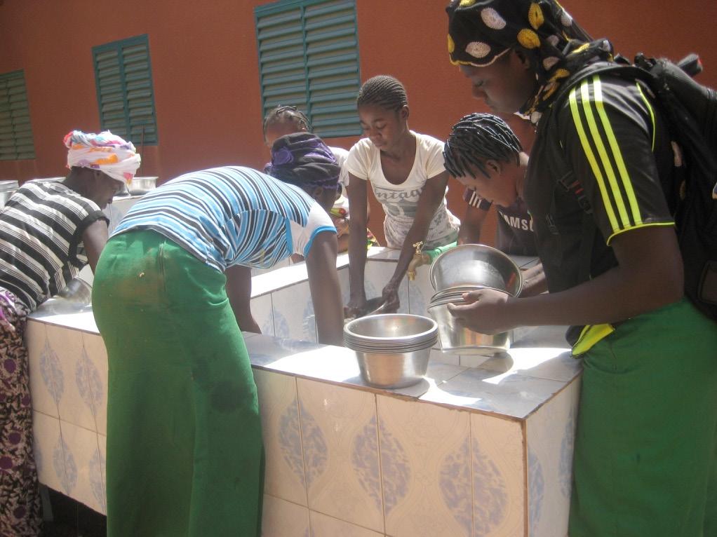 vaisselle du repas
